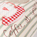 Personalised Embroidered Cushion
