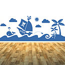 Sea Scene Wall Sticker Mural