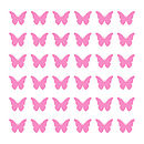 Butterfly Wall Tile Stickers