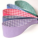 Reversible School Headbands Range