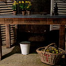Fruit box zinc table main