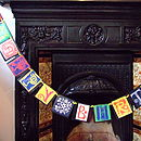 Personalised Paper Bunting 'Happy Birthday'