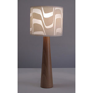 Marble Drum Lampshade - lighting