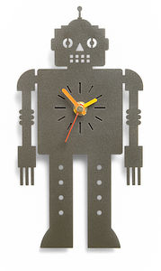 'Sentinel' Metal Wall Clock - home accessories