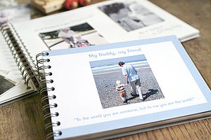 Personalised Dad Album - stocking fillers under £15
