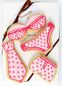 Homemade Shortbread Biscuit Underwear Gift Set