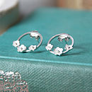 Daisy ring earrings 2