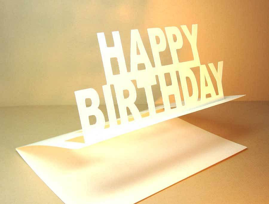 Elegant Birthday Card Idas Ponderresearch Co