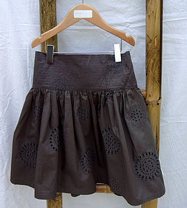 Girl's Embroidered Skirt - children's skirts