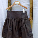Girl's Embroidered Skirt