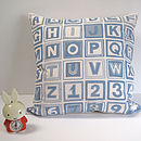 Blue/Grey Cushion