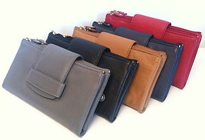 Leather Purse/Clutch Bag - bags & purses