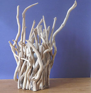 Driftwood Twig Lamp - dining room
