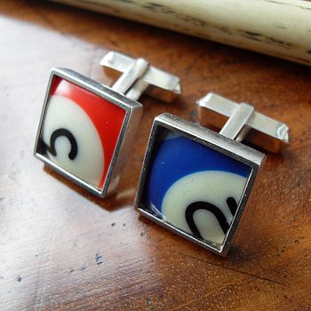 Pool Ball Cufflinks