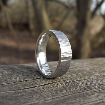 Forged Silver Ring