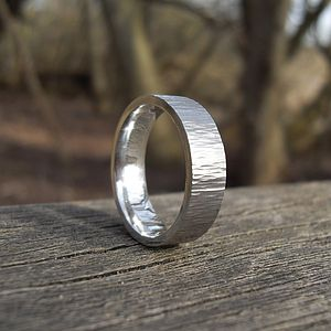 Forged Silver Ring - rings