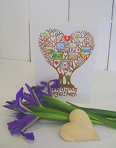 'Growing Together' Card