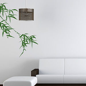 Bamboo Wall Sticker - dining room