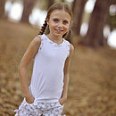 French Design Polka Dot Shorts And Top Set