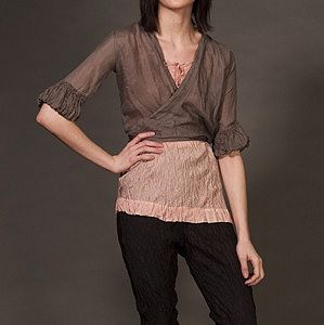 Silk Dolly Blouse