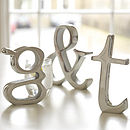 Aluminium Letters