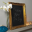 Decorative Frame Chalkboard