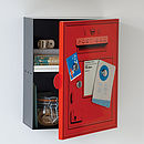 Metal Post Box Locker