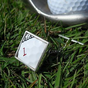 Golf Ball Tie Pin - birthday gifts