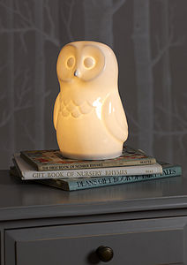Owl Lamp - gifts for babies