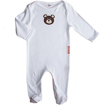 Organic Eco-fi baby-grow/ sleepsuit, selection of designs available!