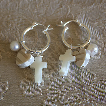 Purity hoop earrings