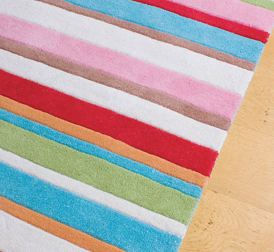 Kathy Striped Rug By Babyface