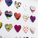 Little Paper Hearts Picture Close Up
