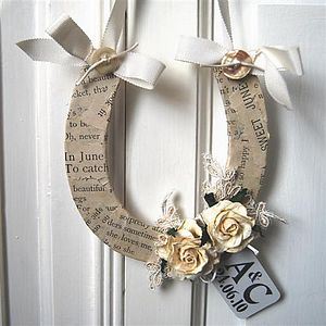 Wedding Good Luck Horseshoe - home accessories