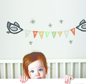 Birdie Banner Wall Graphics