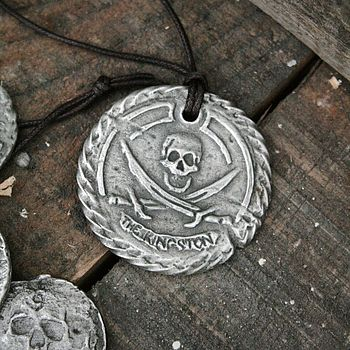 'The Kingston' Personalised Pirate Medallion