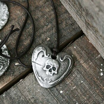 Pirate Heart Necklace