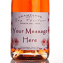 Personalised Premier Cru Rose Champagne
