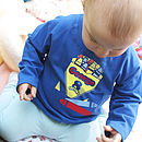 Personalised Crayons Long Sleeved T-Shirt