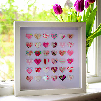 Paper Hearts In Pink