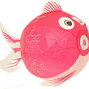 pink fish cut out