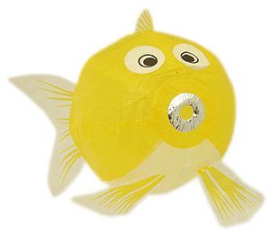 Fish Japanese Paper Balloon Large