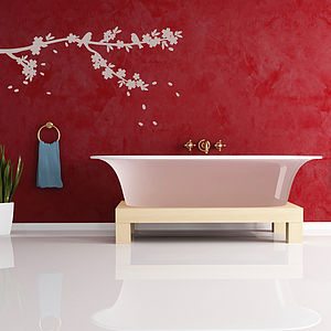 Sakura Tree Blossom Wall Sticker - home decorating