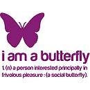 I am a Butterfly Wall Sticker