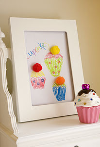 Child's Single A4 Art Frame - picture frames