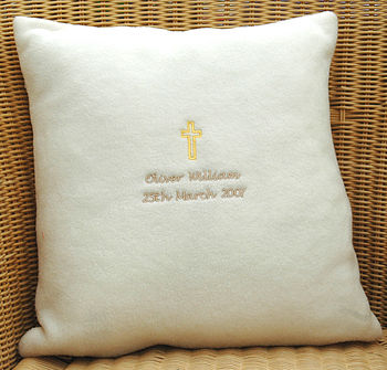 Christening Cushion