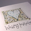 Wedding Invitation Serendipity