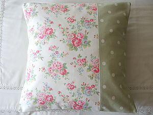 Floral Spray Flowers Cushion Cover - cushions