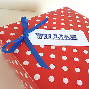 Personalised Gift Tag - corporate gifts
