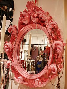 Ornate Carved Mirror - mirrors